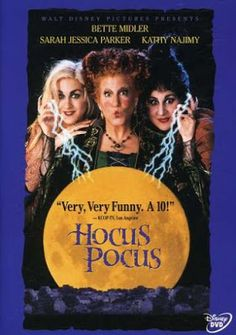 Hocus Pocus on DVD  $4.00