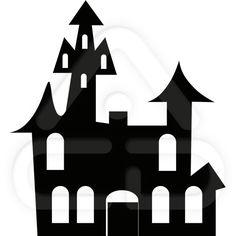 siluetas de casas encantadas - Buscar con Google