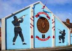 Ulster Volunteer Force ... 3rd Batt , Mural Northern Ireland Troubles, Belfast, Wall Murals, The Past, History, Patriots, Image, Wallpaper Murals, Historia