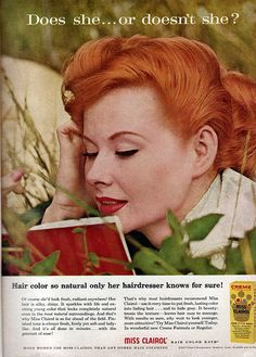 I like vintage ads. Do not know why, but they seem a little more interesting then what I see today (and I see a lot)