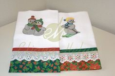 Pano de prato/Dishcloth Pano de prato com bordado. Dish towel with embroidery.