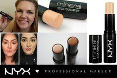 To NYX Mineral Stick Foundation είναι ιδανικό για τις γυναίκες που διαθέτουν λίγο χρόνο για το μακιγιάζ τους! Εφαρμόζεται και απλώνεται πολύ εύκολα! Επίσης επειδή είναι σε μορφή stick, μπορείτε με δύο αποχρώσεις να κάνετε εύκολα και γρήγορα φωτοσκιάσεις στο πρόσωπο σας! Διαθέσιμο σε 7 αποχρώσεις.