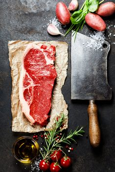 Get Butcher Box Delivered Free Meat Steak, Bbq Meat, Food Photography Styling, Food Styling, Raw Food Recipes, Meat Recipes, Steaks, Carnicerias Ideas, Butcher Box