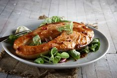 search - www. Salmon Burgers, Chicken Wings, Easy Meals, Pork, Dishes, Meat, Ethnic Recipes, Grilled Salmon, Tuna