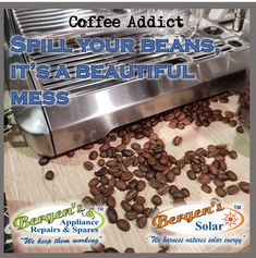 We aim to repair domestic appliances with the utmost sense of urgency and professionalism, creating community based service outlets in the form of franchises. Bergen, Coffee Beans, Coffee Cups, Solar Geyser, Appliance Repair, I Love Coffee, Beautiful Mess, Home Automation, Solar Energy