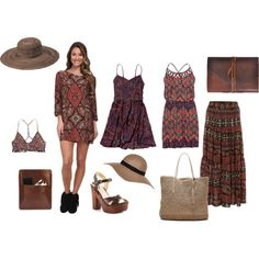 Going gypsy this summer by anna-suchodolska on Polyvore featuring Abercrombie & Fitch, maurices, Billabong, RVCA, Alice & You, ALDO, Banana Republic, Palila, Peter Grimm and River Island