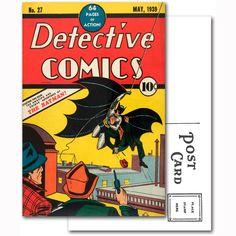 Batman Detective Comics Number 27 Comic Cover Postcard