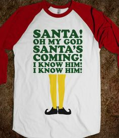 Santa's Coming! - Fun Movie Shirts - Skreened T-shirts, Organic Shirts, Hoodies, Kids Tees, Baby One-Pieces and Tote Bags Custom T-Shirts, Organic Shirts, Hoodies, Novelty Gifts, Kids Apparel, Baby One-Pieces | Skreened - Ethical Custom Apparel