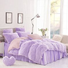 Invest in a fluffy bedding for snug snoozing. . Find shop link in our bio and search Product ID ID: 12941364  . #beddinginn #bedding #beddingsets #duvetcovers #bedroomdesign #bedroomdecor #bedroomideas #decor #homedecor #cozy #style #instalike #like4like #bedroom #home #stayinbed #snooze #comfy #snuggly #bedtime #teensbedding #dormbedding #adultbedding #fluffy #fluffybedding #winter #velvet #velvetbedding #fuzzybedding #suedebedding - Architecture and Home Decor - Bedroom - Bathroom…
