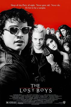 The Lost Boys movie poster Fantastic Movie posters #SciFi movie posters #Horror movie posters #Action movie posters #Drama movie posters #Fantasy movie posters #Animation movie Posters