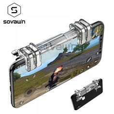 Sovawin Gamepad Controller Analog Free Fire Phone Joystick Button Portable PUPG Mobile Gamepad Controller l1r1  Price: 9.95 & FREE Shipping  #smartphones Car Phone Mount, Gadget, Fire, Free Shipping, Button, Accessories, Phone Mount For Car, Gadgets, Products