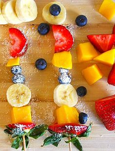 Skinny Snacks and recipes for kids!