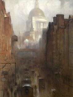 St Paul's Cathedral - Arthur Hacker 1912