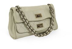 Chanel Leather Double-Flap Bag