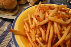 French fries-how to make crispy oven fries
