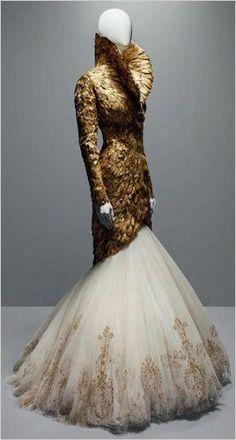 McQueen-Savage Beauty at the Met #alexandermcqueendress