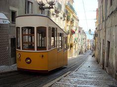 Lisbon funiculars