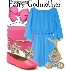"""""""Fairy Godmother"""" by lalakay on Polyvore #disney"""
