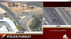 California High Speed Police Chase Armed Bank Robber In Stolen Flatbed T...