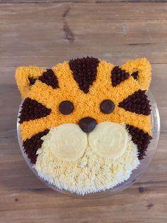 Sparkly Tiger Cake