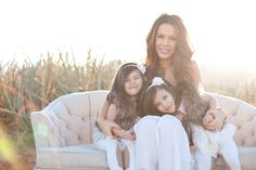 Amie Pendle Photography_0039 twins, twin girls lifestyle, family  portraits sunlit, sunset desert, southern utah
