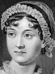Jane Austen. Ihre literarische Welt war die des englischen Landadels, deren wohl kaschierte Abgründe sie mit feiner Ironie und Satire entlarvte.