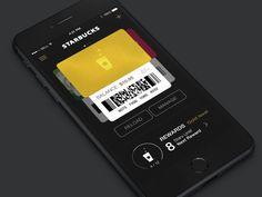 Starbucks App Re-Design Exploration