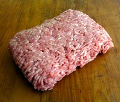 UNDERSTANDING GROUND PORK: it is a combination of lean meat and fat from any part of a pig. It can be ground finely or coarsely, and like ground beef, depending on the amount of fat in it, it can be regular, lean, extra lean, etc. The maximum fat content allowed in America is 30 percent. http://www.cooksinfo.com/ground-pork