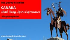 Exploring culture, nature and spiritual heritage of this amazing country with unique, uplifting travel experiences Sulphur Mountain, St Lawrence, Visit Canada, Canadian History, Mind Body Spirit, Quebec City, Top Of The World, The Visitors, Feeling Great
