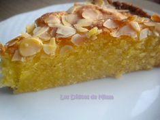 Gâteau fondant aux amandes 5