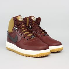 Nike Lunar Force 1 Sneakerboot Bordô