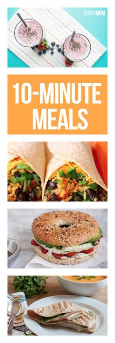 Strapped for time? Save these meals!