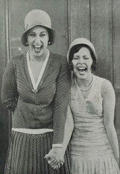 1920s laughter!