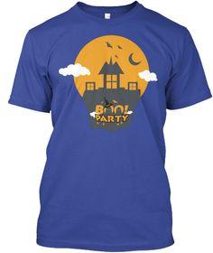 Boo! Party Deep Royal T-Shirt Front