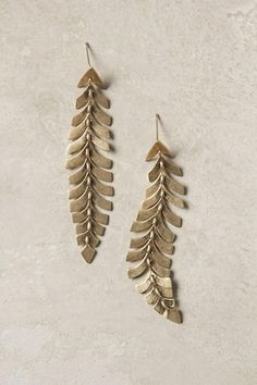 Southbound Plume Earrings - B