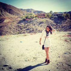 Coachella Festival with Smart Car/Mercedes Benz - The Style Traveller Elle Fashion, Fashion Editor, Travel Expert, Coachella Festival, Smart Car, Palm Springs, Travel Style, Grand Canyon, Mercedes Benz