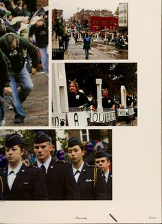 Athena yearbook, 2006. Homecoming parade :: Ohio University Archives