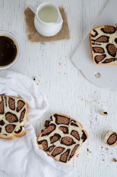 ... leopard milk bread ...