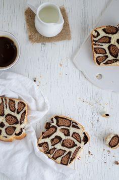 Coco e Baunilha: Pão de leite leopardo