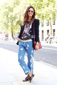 Street Style Photoblog - Fashion Trends - Soraya Bakhatir, London Fashion Week