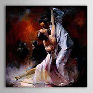 Ölmalerei Tänzerin 1303-pe0217 handbemalte Leinwa... – EUR € 80.99