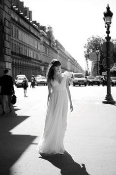 Une robe de mariée style grec empire - Robes de mariée et beauté - Touslesmariages.com