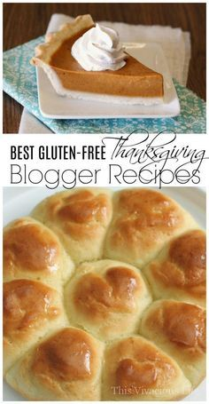 These are the BEST gluten-free blogger Thanksgiving recipes around! From pull apart dinner rolls to perfect pumpkin pie, we have it all!   gluten-free thanksgiving recipes   gluten-free recipes for thanksgiving   gluten-free holiday recipes    This Vivacious Life #glutenfree