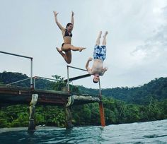 Patrick and Eden share with us their experience at #PlayaNicuesa to win 3 nights with our photo contest! ☺  Perfect timing at our dock enjoying #NicuesaLifestyle! 🍃  #CostaRica #Nature #Green #Sustainable #NatureLover #Osa #Landscape #travel #Beautiful #CRC #Paradise #NatureSound #Earth #Conservation #Dock #Fun