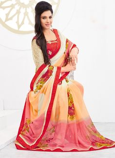 http://www.sareesaga.com/index.php?route=product/product&product_id=19266 Style:Casual Shipping Time:10 to 12 Days Occasion:Party Casual Fabric:Georgette Colour:Pink Peach Work:Print For Inquiry Or Any Query Related To Product,  Contact :- +91 9825192886