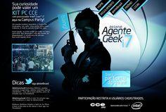 Agente Geek i7 -  Redação: Mariane Costa * Arte: João Passini