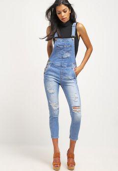 1000 ideas about salopette jean femme on pinterest jean. Black Bedroom Furniture Sets. Home Design Ideas