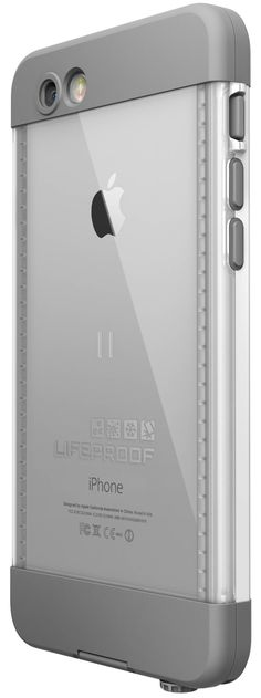 LifeProof Nuud Case suits iPhone 6 PLUS - White - The thinnest, lightest LifeProof case ever built Submersible to 2 meters/6.6 feet for 1 hour Survives drops from 2 meters/6.6 feet Screenles...