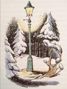 Narnia - Lantern Waste by Pauline Baynes