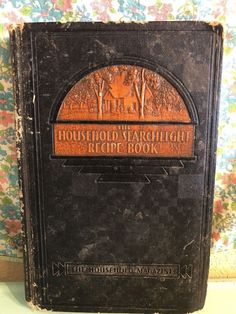 Vintage Household Searchlight Recipe Book 1935 1930s Housewife 8th Printing  | eBay